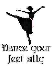 Ballet, Dance your feet silly, dance