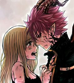 END and Lucy Fairy tail