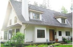 My House Beautiful: The old country reimagined for today.  I love the exterior look of this house!!