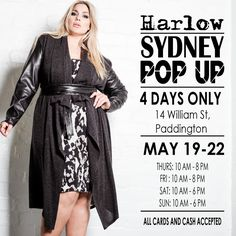 Kimba Likes Harlow Sydney Popup Plus Size Designers, Gorgeous Women, Beautiful, Personal Stylist, A Boutique, Looking For Women, Pop Up, Sydney, Curves