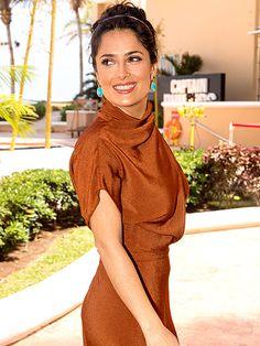 Star Tracks: Friday, April 19, 2013 - PICTURE PERFECT - Star Tracks, Salma Hayek : People.com