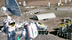 La NASA cree poder colonizar la Luna en el 2022