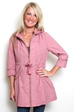 Zip It Jacket in Pink