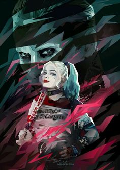 ~Margot Robbie & Jared Leto As Suicide Squads Joker & Harley Quinn ~