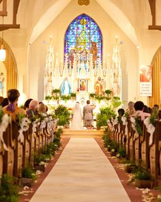 The couple became husband and wife with a full Catholic mass, witnessed by 135 of their nearest and dearest, in Jola's family parish, St. Joseph's Roman Catholic Church in Central Falls, Rhode Island.