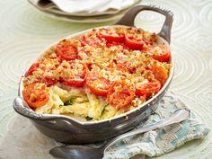 Vegetarische Aufläufe – Ofen-Hits mit viel Gemüse - makkaroni-auflauf Rezept