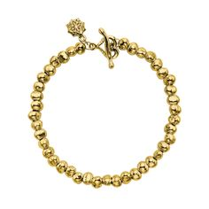 18ct Gold Vermeil Medium Nugget Nomad Bracelet, Nomad - Dower & Hall, London