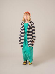 Bobo Choses - big stripes wool jacket