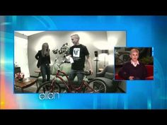Jennifer Aniston doing a hidden camera prank for Ellen. Love her!!