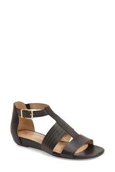 'Longing' Flat Sandal - Multiple Widths Available