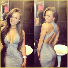 Sexy Girls in Tight Dress & Skirts