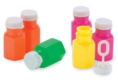 Bubble Bottles (Favor idea)