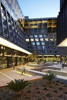 St James Plaza | Melbourne Australia | ASPECT Studios #commercial #office #plaza #landscape