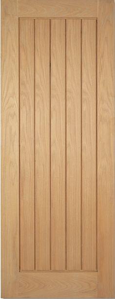 Solid Oak Victorian Flat Panel Door Ukoakdoors Home