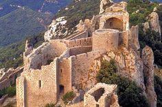 Peyrepertuse castle, Aude, France