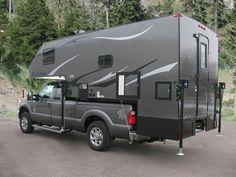 pickup camper foto