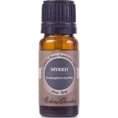 Myrrh - mix 5 drops with a few oz of water and gargle 2x a day for canker sores.