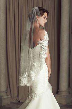 Paloma Blanca Style #V440F veil