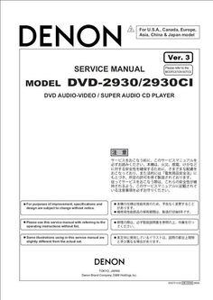 denon model owners manual product user guide instruction u2022 rh testdpc co Denon Receivers Manuals denon receiver service manual