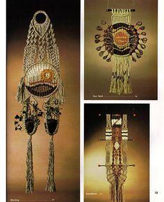 Macrame Weaving A Marriage of the Fiber Arts by grammysyarngarden