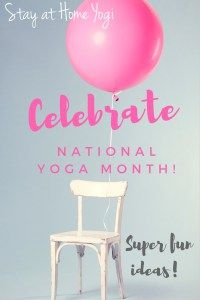 super fun ways to celebrate national yoga month in September!