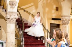 The Grand Entrance every bride deserves... Barnett on Washington - St. Louis Wedding Venue