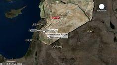 Siria acusa a Israel de bombardear su territorio