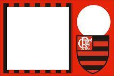 Flamengo - Kit Completo com molduras para convites, rótulos para guloseimas, lembrancinhas e imagens!