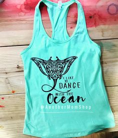 MOANA TANK I like to dance with the ocean tank Moana Shirt