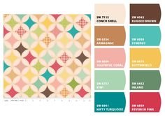 i like the lighter (left) palette better, but both are fun. Made with Chip It! @SherwinWilliams
