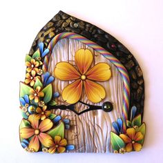 I love these Fairy Doors at Claybykim's Shop on Etsy. I have one for each kid and now for my niece and nephew. ^kls