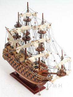 "CaptJimsCargo - San Felipe Spanish Galleon Tall Ship Wood Model Sailboat 19"", (http://www.captjimscargo.com/model-tall-ships/warships/san-felipe-spanish-galleon-tall-ship-wood-model-sailboat-19/) One of our lowest priced Tall Ship Models!"