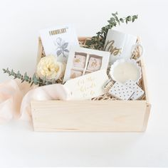 """Wedding Gifts Blush Bridal Shower Gift Box with Wedding Garter For Bride Easy Wedding Gift Blush Wedding Mrs Mug / - The search for that perfect """"something blue"""" is over! The Garter Girl has joined with artisan gifting company, Marigold Wedding Welcome Gifts, Wedding Gifts, Chic Wedding, Wedding Cakes, Wedding Dress, Wedding Bride, Ivory Wedding, Perfect Wedding, Bridal Shower Gifts"""