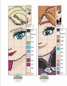 Check out this trendy photo - what an inventive design and style Frozen Cross Stitch, Tiny Cross Stitch, Cross Stitch Books, Cross Stitch Bookmarks, Modern Cross Stitch, Cross Stitch Charts, Disney Cross Stitch Patterns, Cross Stitch Designs, Disney Cross Stitches