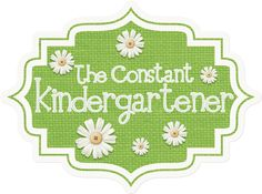 The Constant Kindergartener FB fan page! Teaching resources for pre-k, kindergarten and 1st grade teachers.