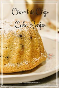 Scratch Chocolate Chip Cake Recipe #scratch #scratchbaking #baking #chocolatechipcake #chocolatechip #chocolatechipcakerecipe #recipe #recipes #scratch #baking #bakingrecipe #yummy #sweet #cakelove #chocolate #yummy #birthday #delicious #freshlybaked #cakeway