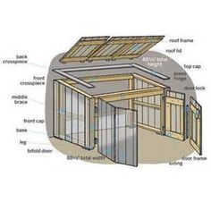 Outdoor Garbage Can Storage Plans