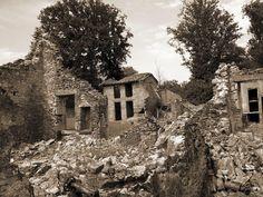 In Oradour-sur-Glane, France