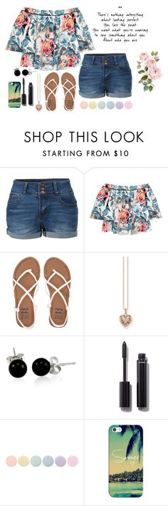 """""""Love Myself"""" by ambroselove ❤ liked on Polyvore featuring LE3NO, Elizabeth and James, Billabong, Thomas Sabo, Bling Jewelry, Chanel, Deborah Lippmann and Casetify"""