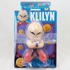Dragon Ball Z Krillin DX Sofubi Figure 2 Banpresto  JAPAN ANIME MANGA