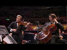 Proms - Capuçon brothers - Handel-Halvorsen Passacaglia encore - YouTube