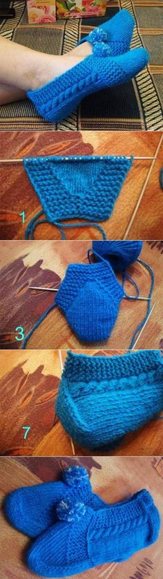 Crochet Patterns Socks This Pin was discovered by Hal Crochet Socks, Knit Or Crochet, Knitting Socks, Crochet Stitches, Beginner Crochet, Knitting Patterns Free, Knit Patterns, Free Knitting, Baby Knitting