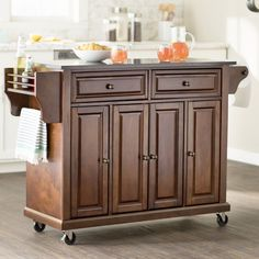 Dahlia Kitchen Island & Reviews | Joss & Main