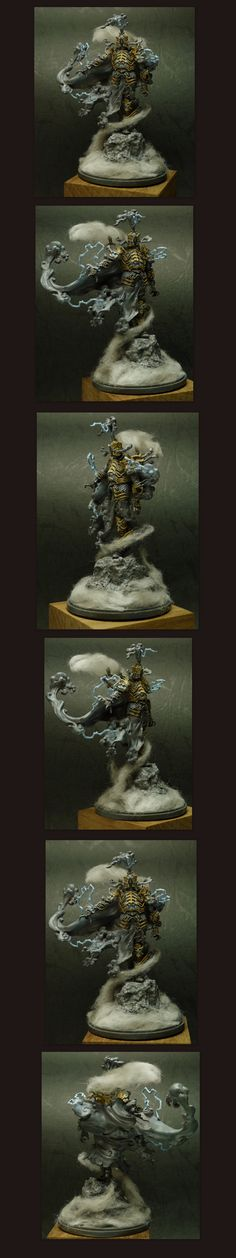 Storm Knight painted by silencer TW