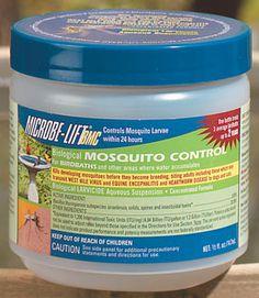 Pond Supplies: Water Garden Mosquito Control