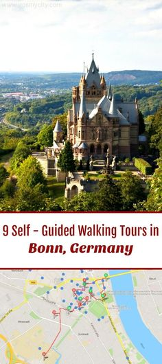 Follow these 9 expert designed self-guided walking tours in Bonn, Germany to explore the city on foot at your own pace. Each walk comes with a detailed tour map and together they are the perfect Bonn city guide for your trip.