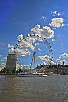London Eye London Eye, Marina Bay Sands, Opera House, Fair Grounds, Eyes, Travel, United Kingdom, Viajes, Destinations