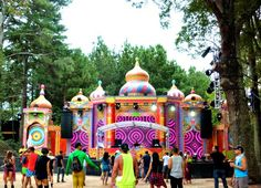 Stages of #TomorrowWorld 2014