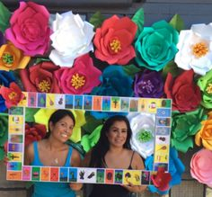 Paper Flower Backdrops for Birthday Wedding BabyShower celebration candy table Decoration  Mexican theme fiesta party