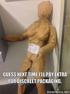 Huomaamaton paketti